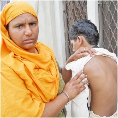 Mother of Amritdhari boy who was assaulted by Cultists