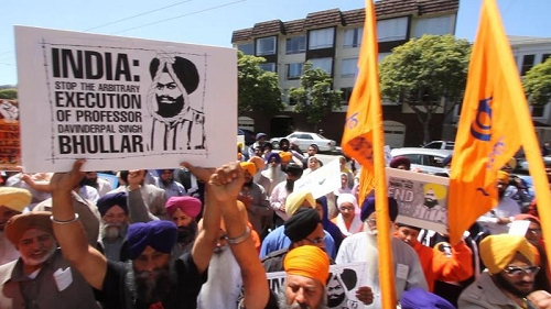Sikhs Marching in San Francisco, California