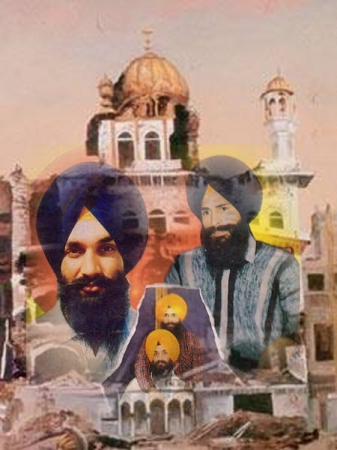 Sikh  Shaheeds Bhai Jinda and Bhai Sukha